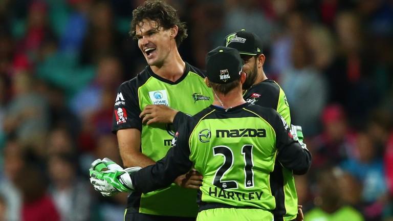 Clint McKay has taken 22 Blast wickets this season