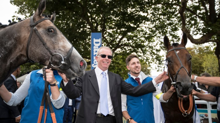 Karl Burke, who saddled the first two home in the Prix Morny, hoping for a bargain to match €24,000 winner Unfortunately (right) at Fairyhouse this week