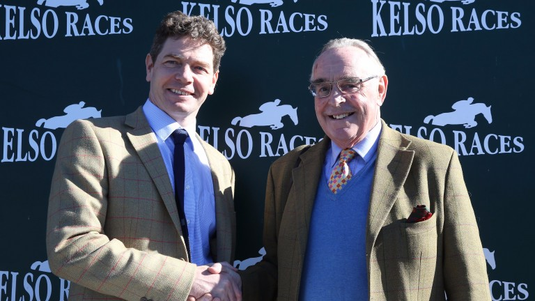 Jonathan Garratt (left) is to succeed the retiring Richard Landale (right) as general manager at Kelso