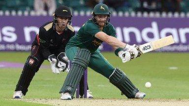 Riki Wessels was one of the top five runscorers in the T20 Blast group stage