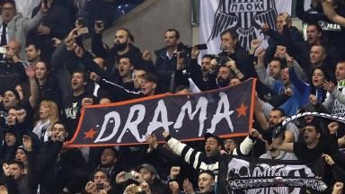 PAOK supporters may have plenty to celebrate about