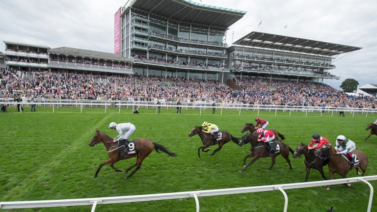 Threading and James Doyle pull clear to win the Lowther Stakes
