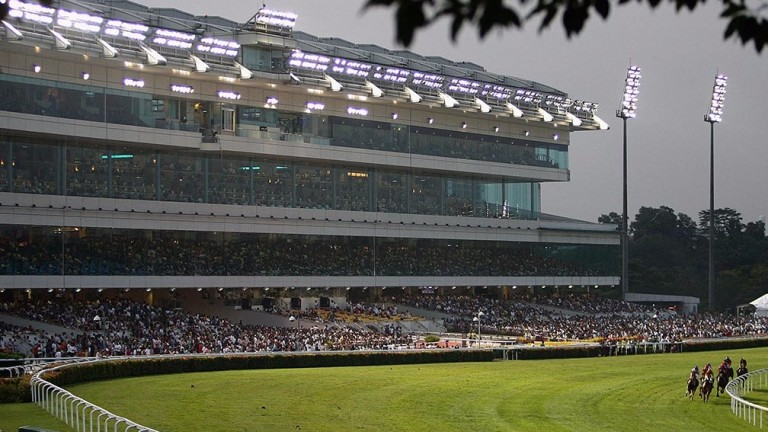 Kranji racecourse in Singapore