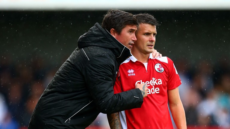 Crawley's Harry Kewell and Dean Cox look set for a tough season