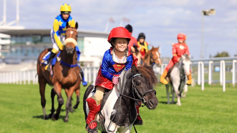 Evie Tozer and Jim Jam lead the way at Epsom