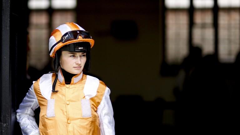 Shelley Birkett: the winning jockey will be trying her hand at presenting