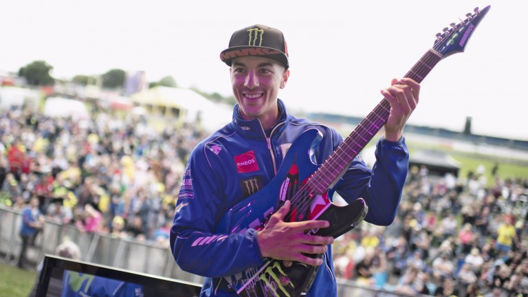 Maverick Vinales could call the tune again at Silverstone