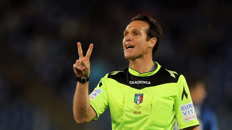 Referee Luca Banti should have a trouble-free game