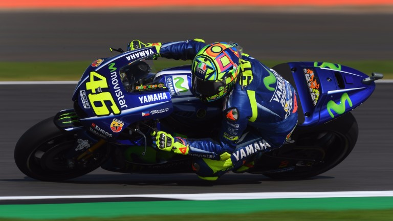 Valentino Rossi won at Silverstone two years ago