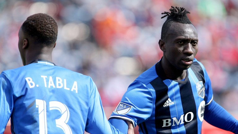 Dominic Oduro (right) of Montreal Impact