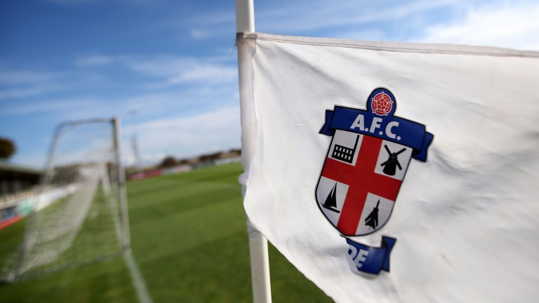 A corner flag at AFC Fylde