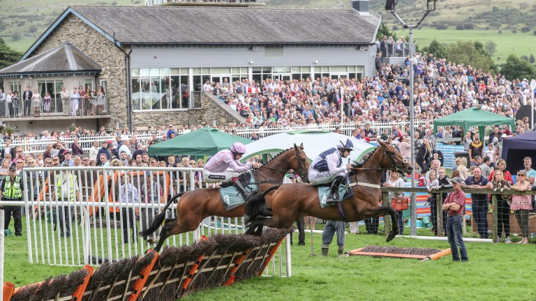 As usual fans flocked to Cartmel