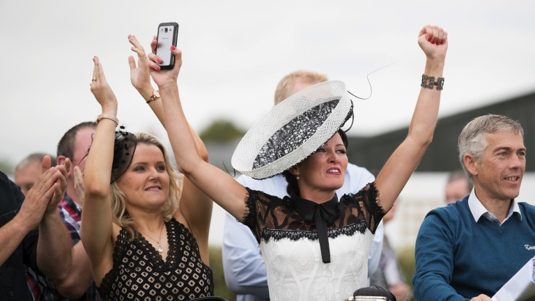 Celebrations as the best dressed lady is announced