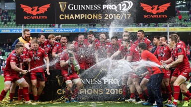 Scarlets claimed Pro12 glory in last season's Dublin final