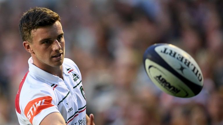George Ford is back at Leicester
