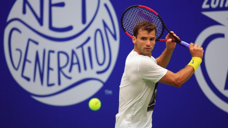 Cincinnati champion Grigor Dimitrov