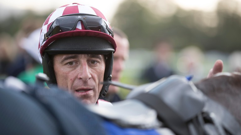 Davy Russell: Grand National hero is in action at Tramore