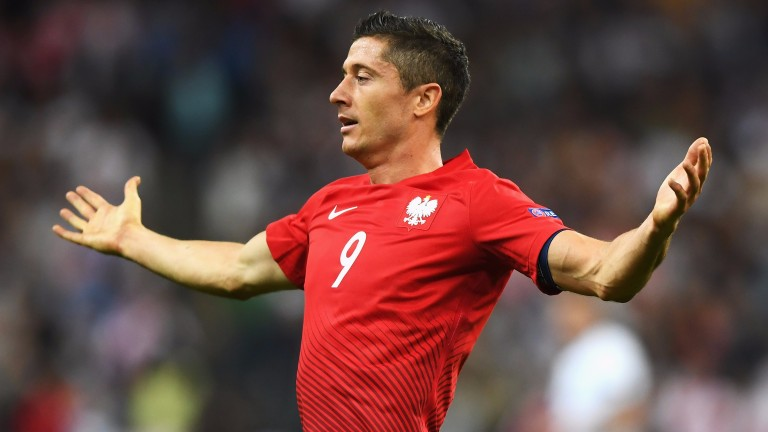 Robert Lewandowski is prolific for Poland