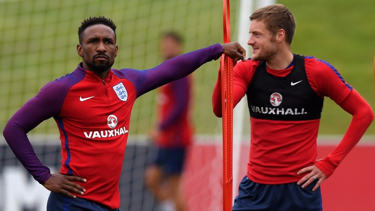 Jermain Defoe and Jamie Vardy are two of England's attacking options in Malta