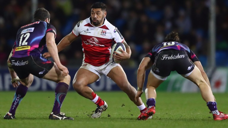 Ulster winger Charles Piutau is all about power and pace
