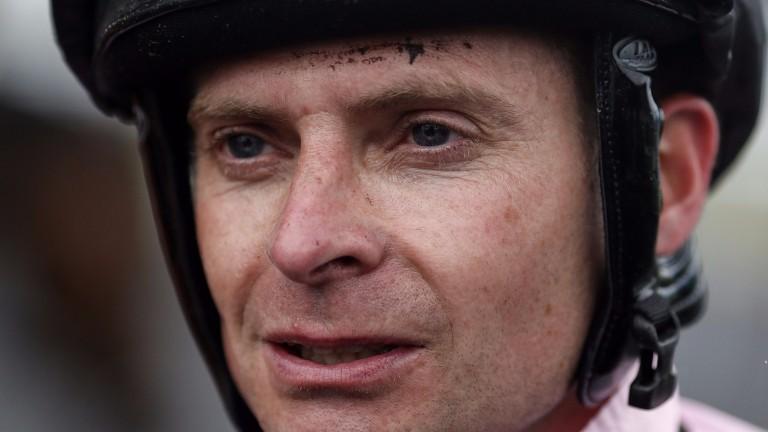 Fergus Sweeney: represents Ireland in the Euopean Jockeys' Cup