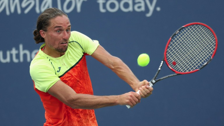 Alexandr Dolgopolov has responded to his problems by producing his best tennis in New York