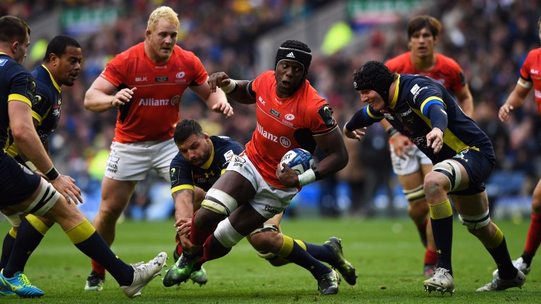 Maro Itoje played in all three Lions Tests and starts for Saracens