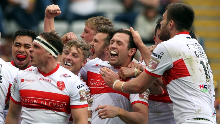 Hull KR could have plenty to celebrate at Featherstone