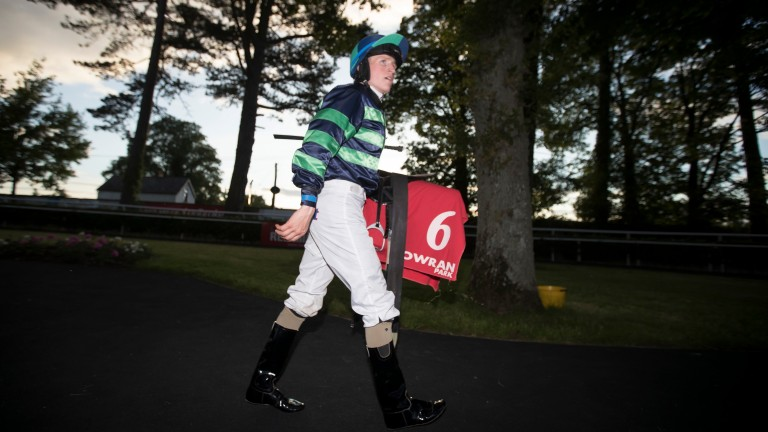 Halpin: hoping to march home in front in the apprentice championship