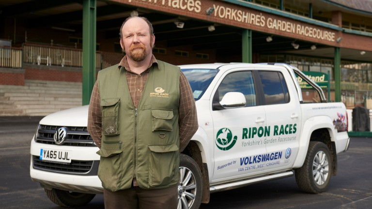 Carl Tonks: Ripon groundsman and his team are up for an award