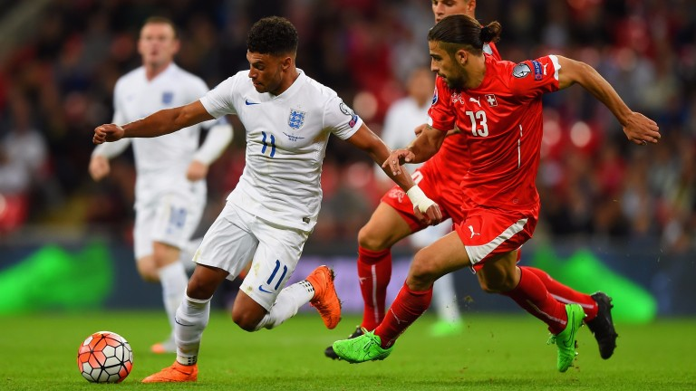 Alex Oxlade-Chamberlain could make an impact against Slovakia