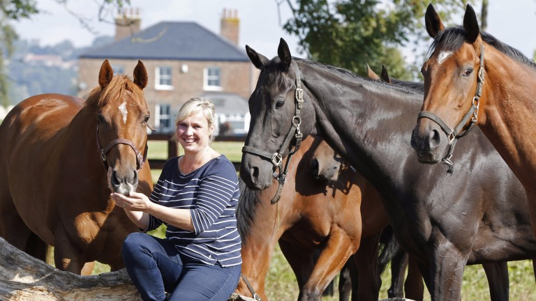 Ruth Carr: the horses will keep on ticking over