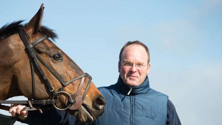 Dr Richard Newland: saddles Bob Ford in the West Wales National at Ffos Las on Sunday