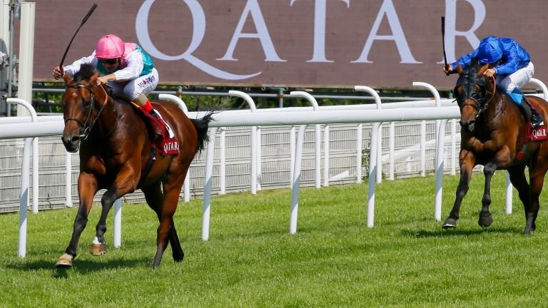 Expert Eye - Andrea Atzeni wins from the fieldThe Qatar Vintage Stakes (Group 2) (Class 1) (2yo)  Goodwood1/8/16.©Cranhamphoto.com