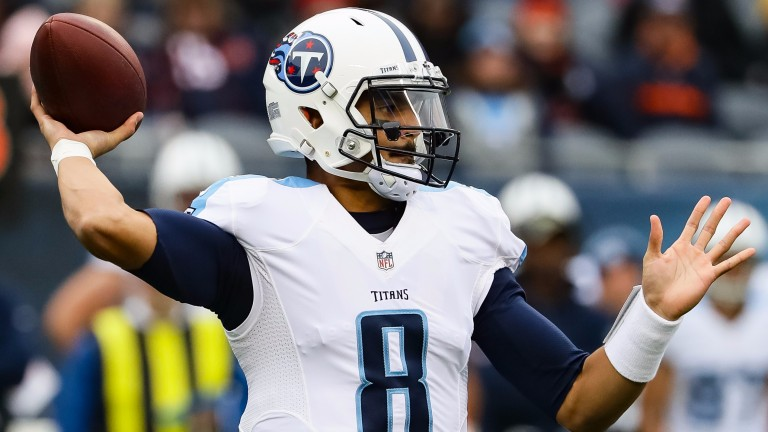 Marcus Mariota is the star of the show for Tennessee