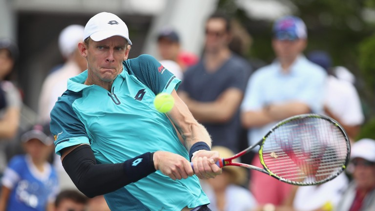 Kevin Anderson looks likely to at least keep tabs on Sam Querrey