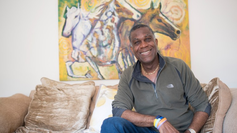 Michael Holding: the owner and cricket legend is 64