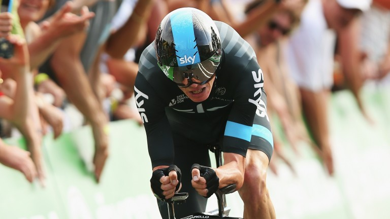 Chris Froome is aiming to extend his lead in the general classification