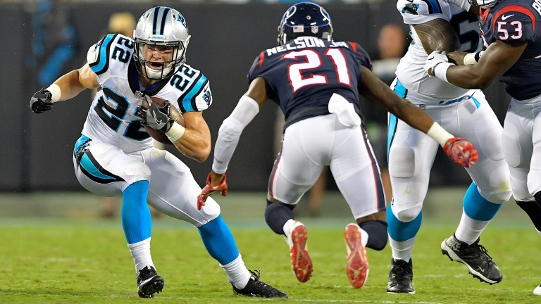 Christian McCaffrey could have a big season in Carolina