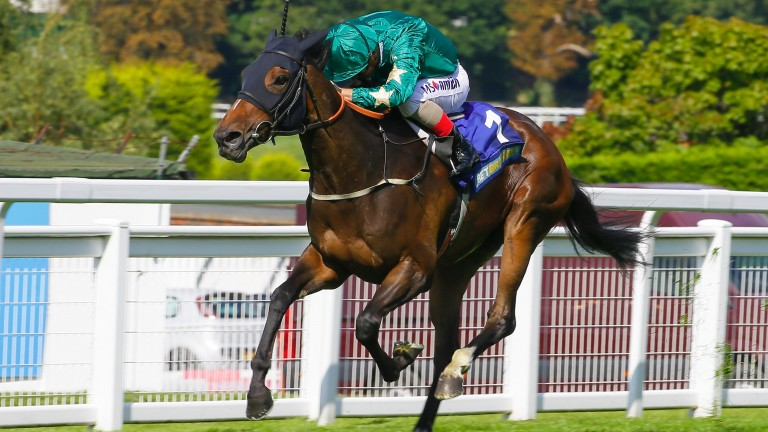 Aljazzi was a clearcut winner of the Group 3 Atalanta Stakes at Sandown in September