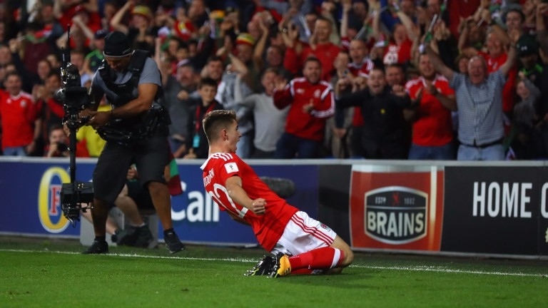 Ben Woodburn starred for Wales against Austria