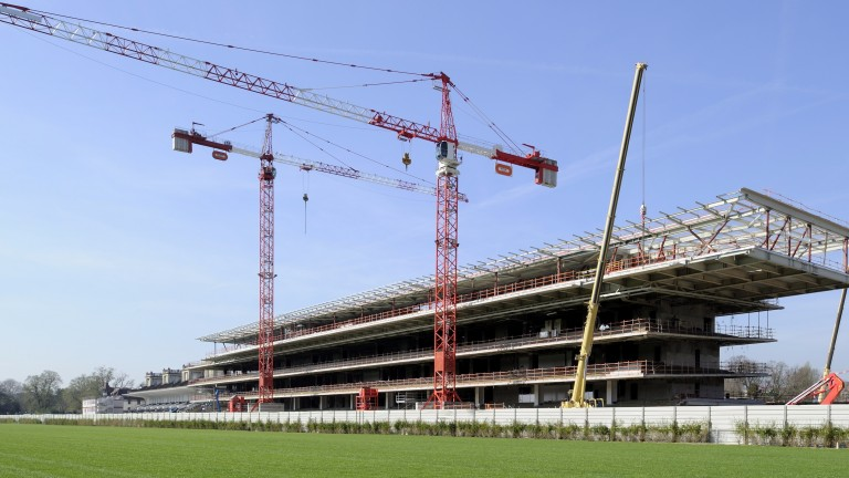 The grandstand at Longchamp is not the only rebuilding project underway on the French Turf