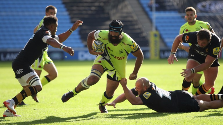 Josh Strauss made an impressive debut for Sale at Wasps