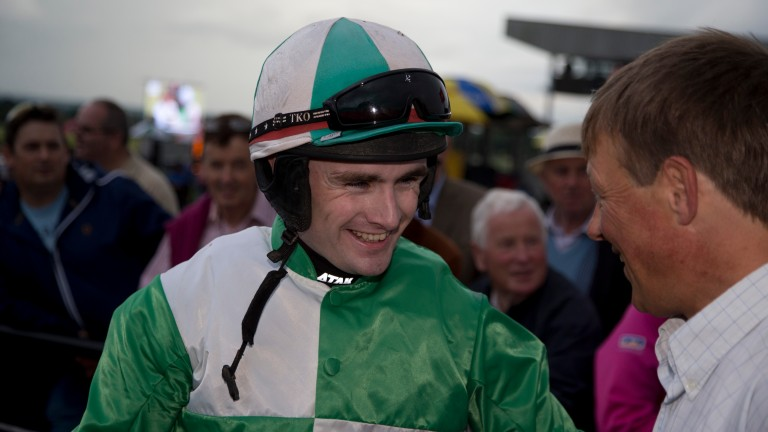 Kevin Sexton rode his first winner since returning from a positive test for a metabolite of cocaine at the Galway summer festival 2016