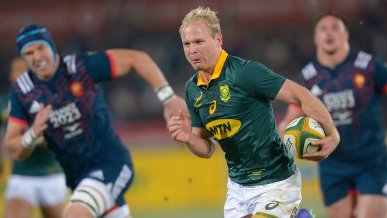 Scrum-half Ross Cronje returns for the Springboks