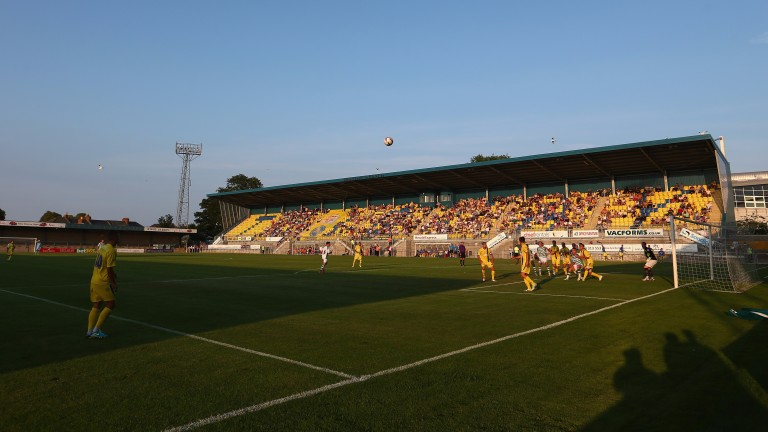 Torquay's Plainmoor ground