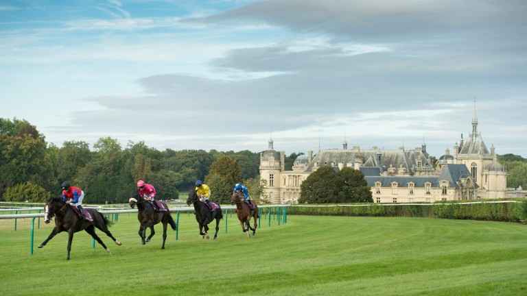 The trials for the Qatar Prix de l'Arc de Triomphe return to Chantilly on Sunday for the second year as the redevelopment of Longchamp continues