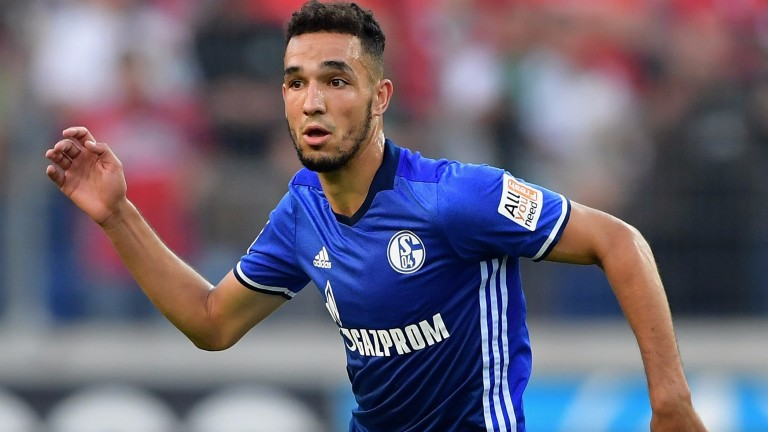 Nabil Bentaleb of Schalke in action against Hannover