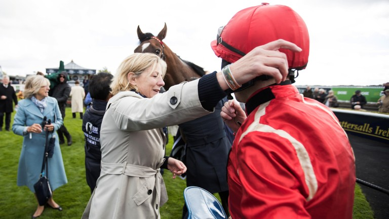 Eve Johnson Houghton seeks second Curragh win with Ice Age