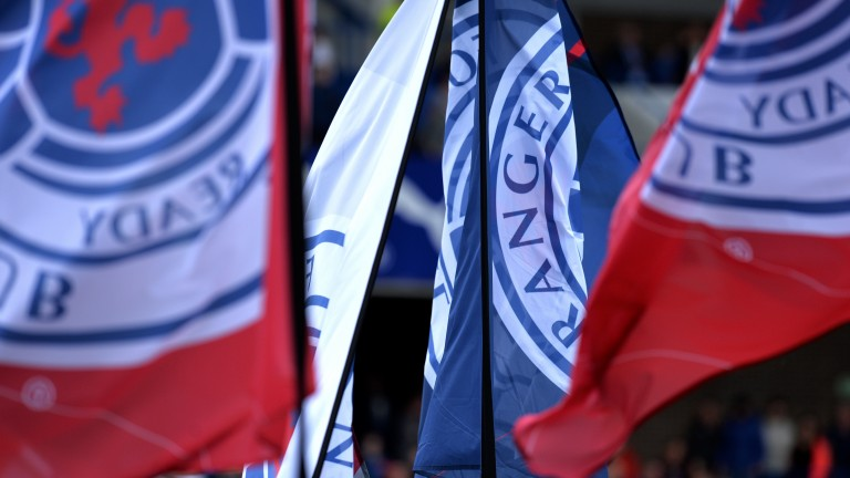 Rangers flags will be flying at Ibrox